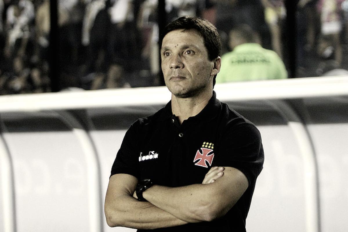 Zé Ricardo não suporta mais uma derrota e pede demissão do comando técnico do Vasco