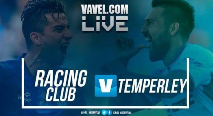 Resumen y goles Racing vs Temperley por la Superliga Argentina 2017 (4-1)