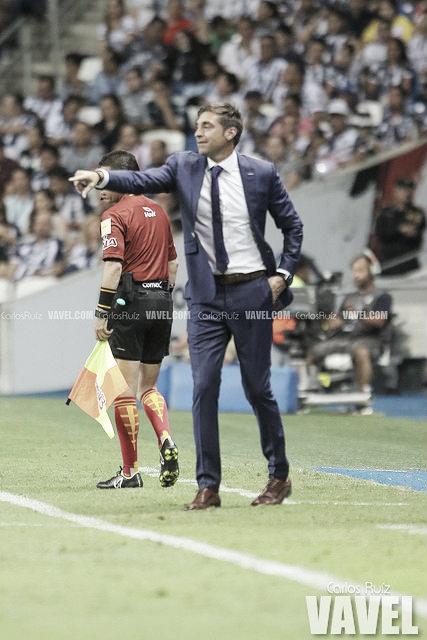 Diego Alonso contento por regresar al triunfo con Rayados