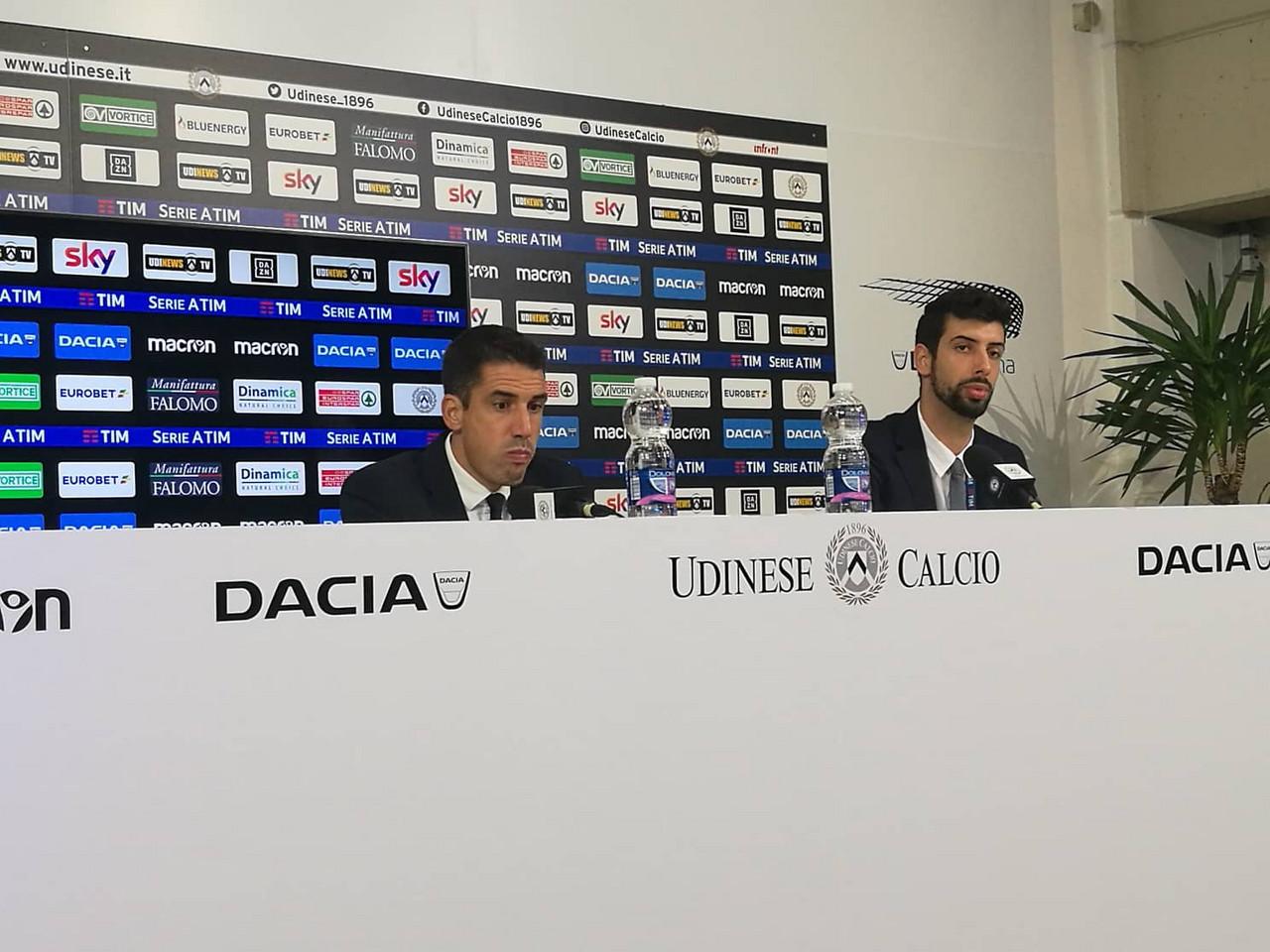 "Udinese - Velazquez: ""Importante interrompere la striscia negativa"""