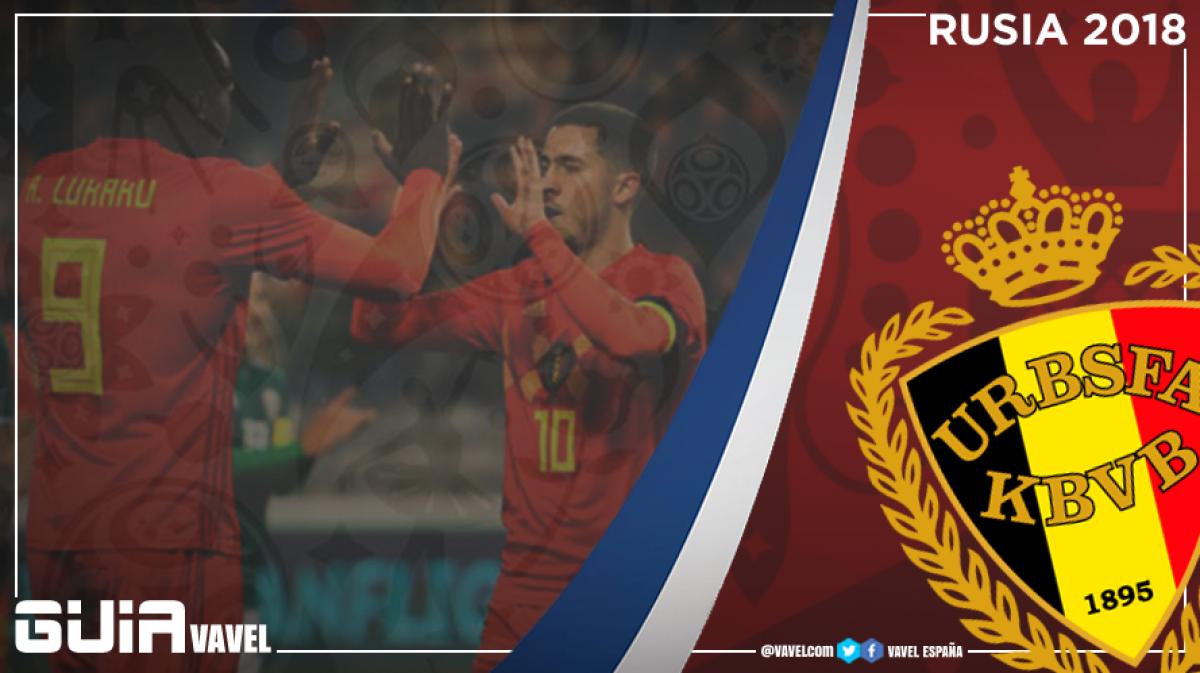 Guía selección belga 2018: consolidarse entre las favoritas