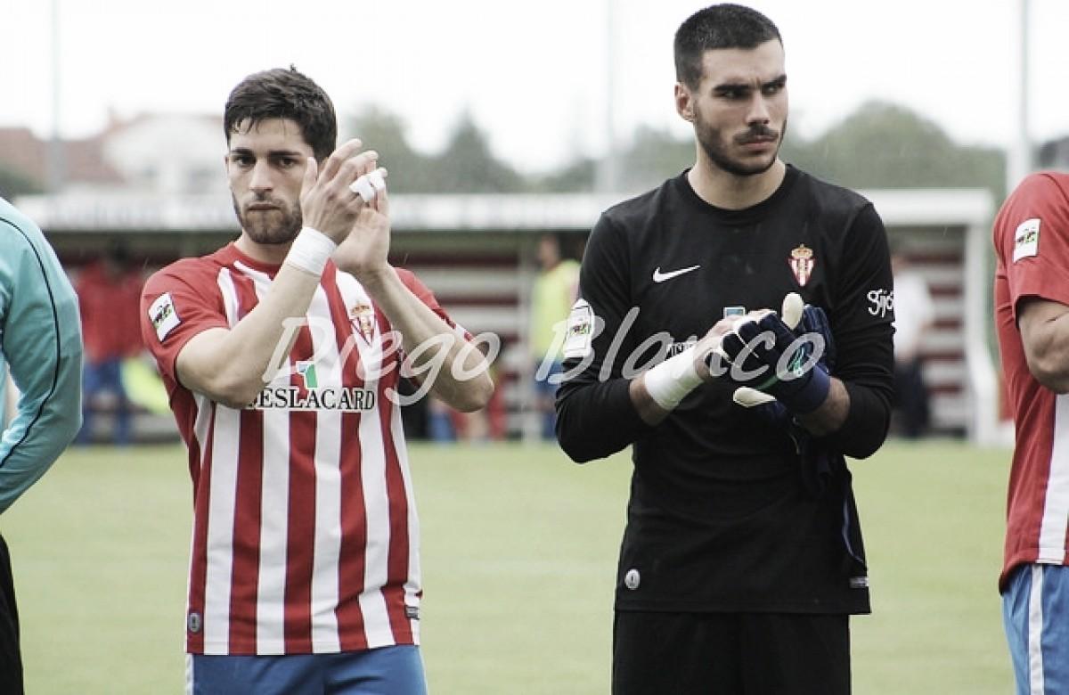 Resumen de la temporada 2017/18: Sporting de Gijón B, el futuro de la portería está garantizado