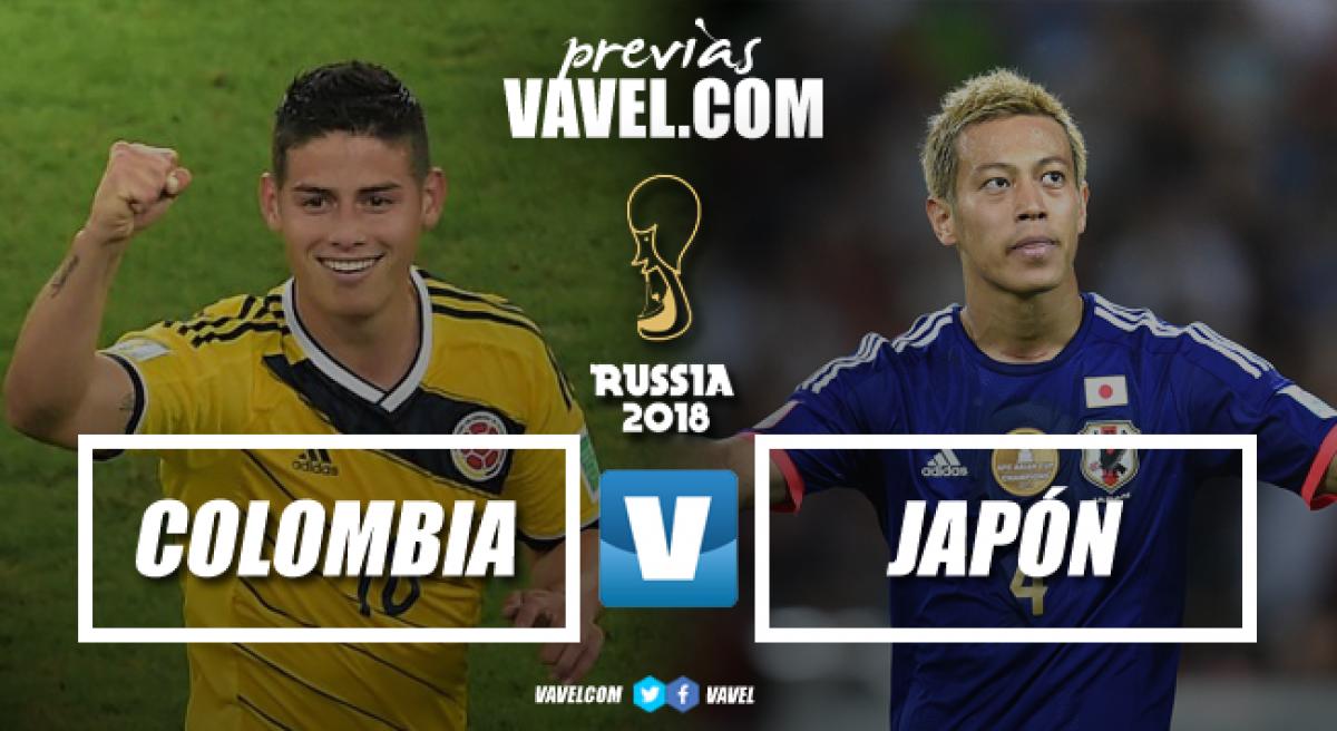 Previa Colombia - Japón: en busca de la primera victoria