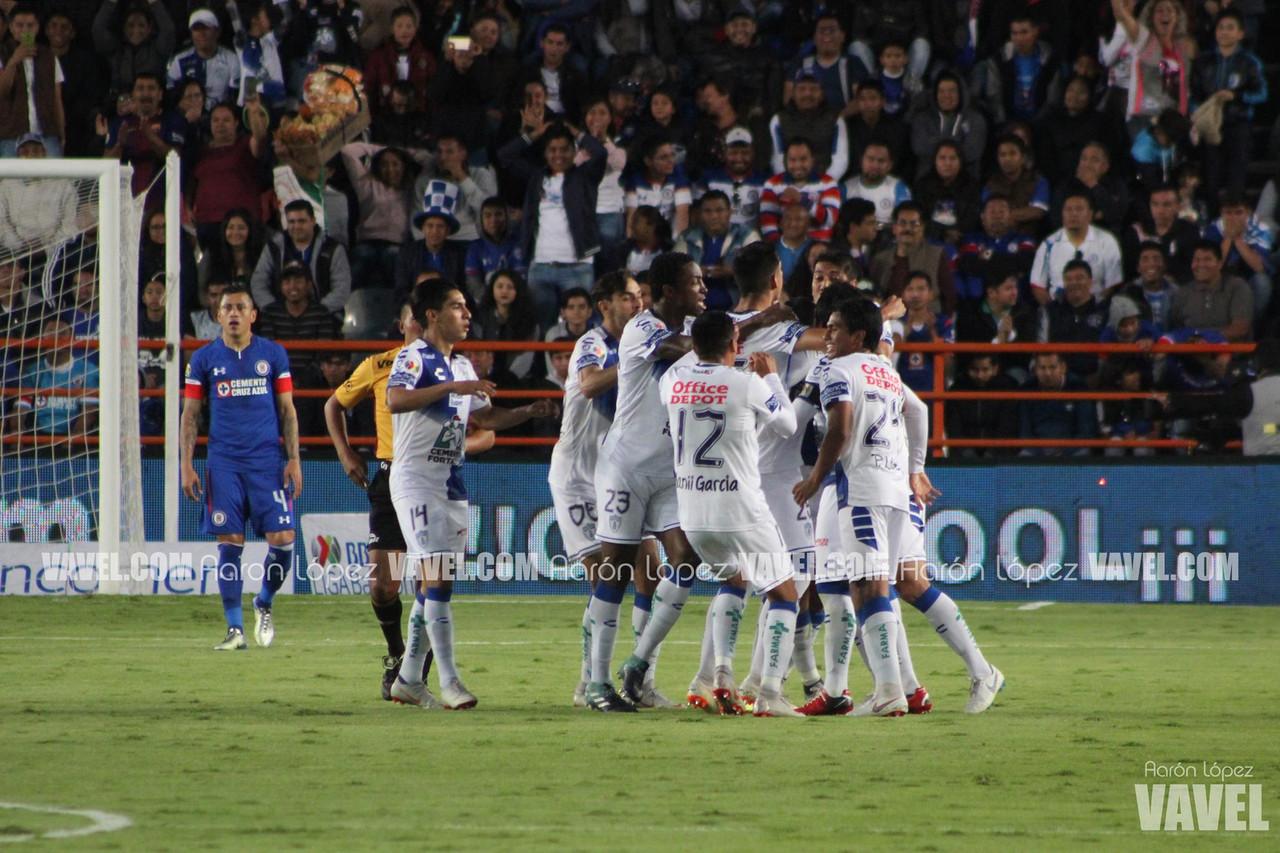 Imágenes del Pachuca 3-1 Cruz Azul en Liga Mx