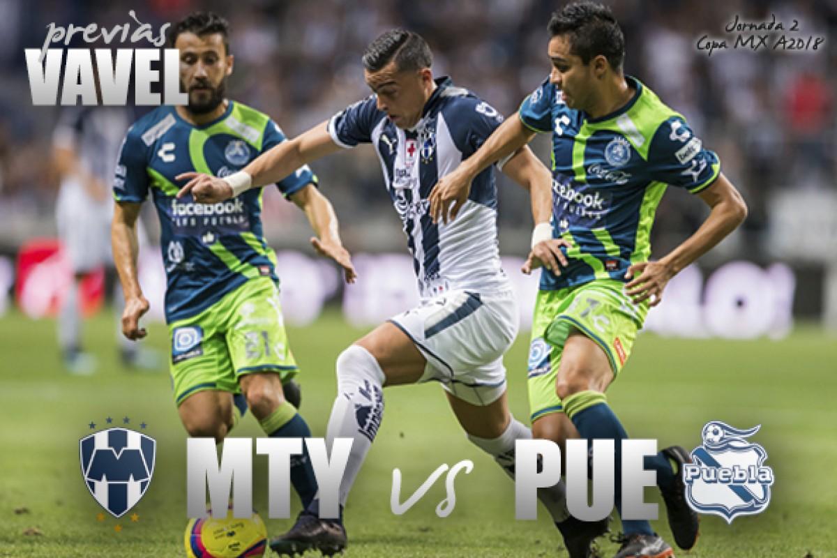Previa Monterrey - Puebla: por la tercera victoria consecutiva