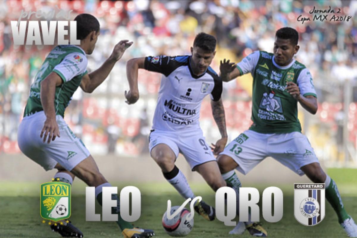 Previa León vs Querétaro: honor por la primera victoria