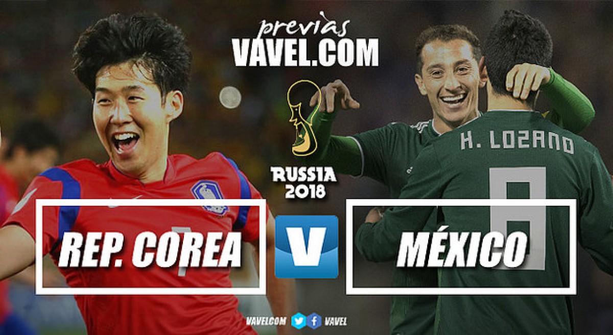 México busca classificação às oitavas em confronto com Coreia do Sul