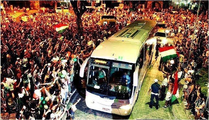 Torcedores do Fluminense planejam 'Corredor Humano' contra o Olimpia