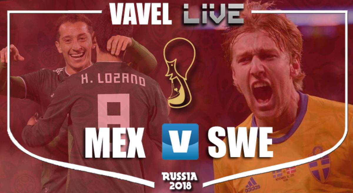 Resultado México 0-3 Suecia en el Mundial de Rusia 2018