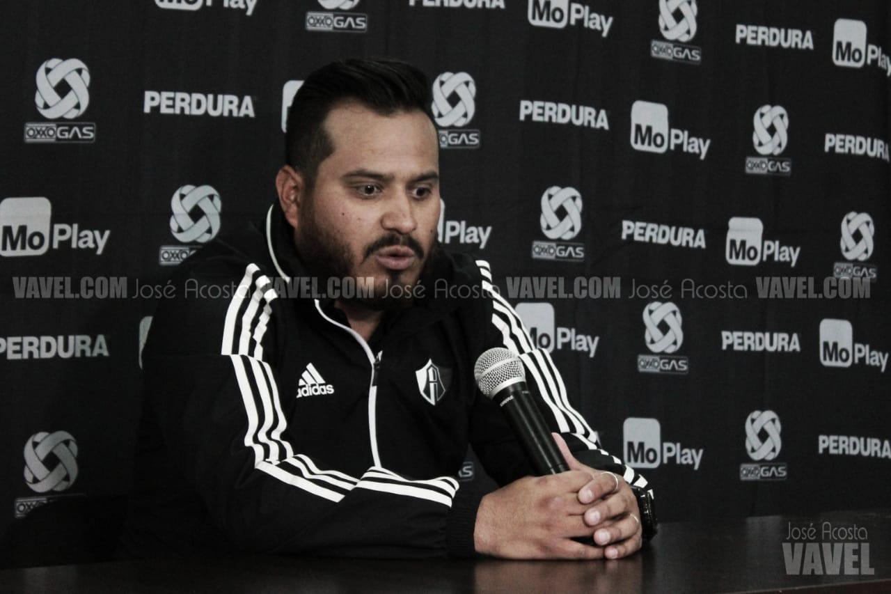 """Fernando Samayoa: """"Apostamos en el plantel por la cantera"""""""
