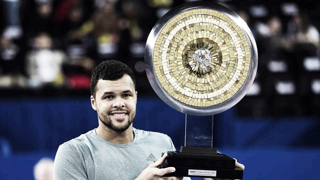 Tsonga se impõe, vence Herbert e conquista título em Montpellier