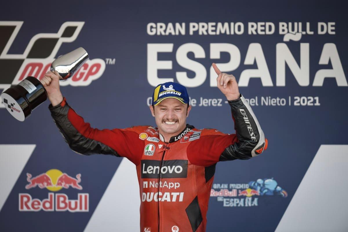 "Jack Miller: ""Nunca podré agradecer lo suficiente a Ducati"""