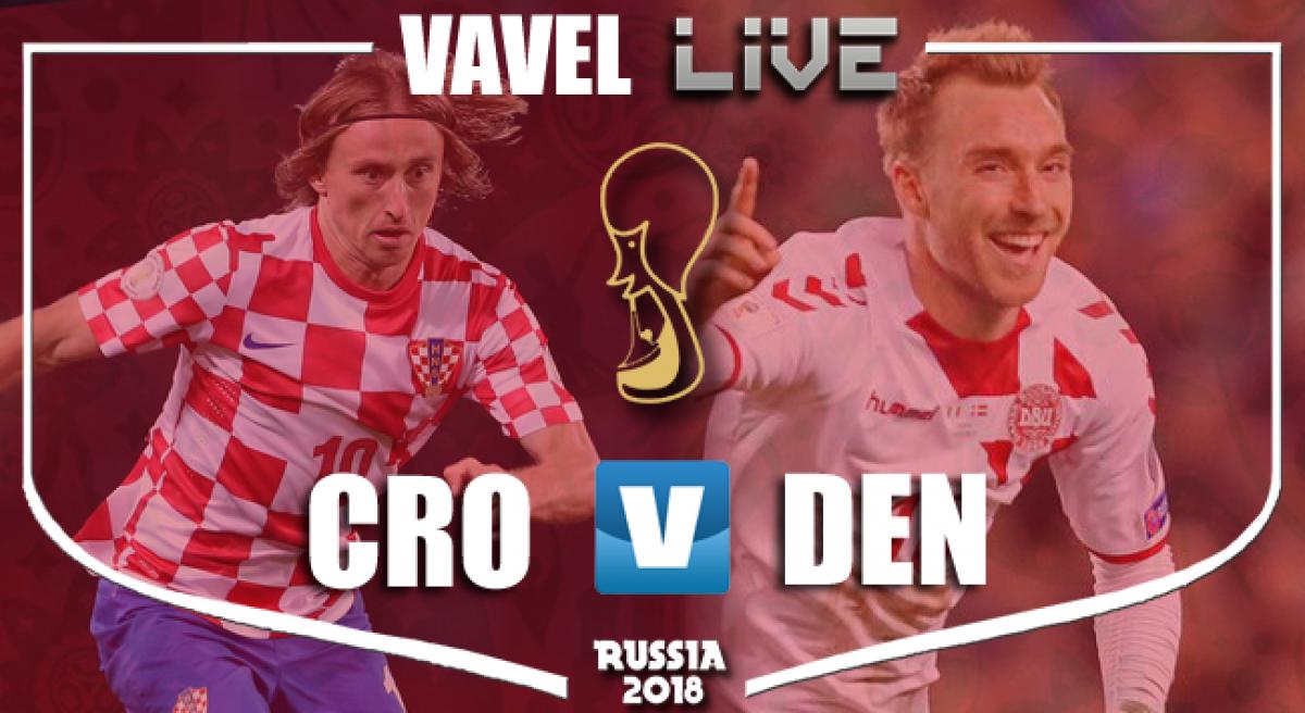 Resumen Croacia vs Dinamarca en Mundial Rusia 2018 (1-1)