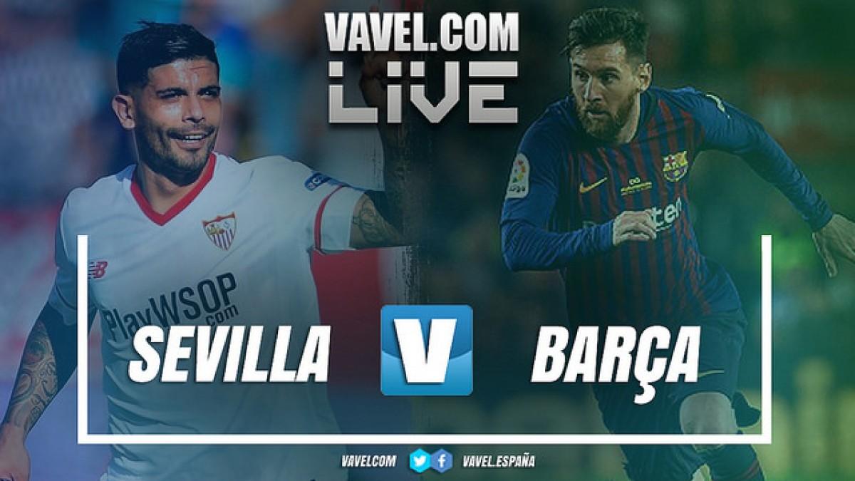 Resultado Sevilla 1 x 2 Barcelona pela Supercopa da Espanha
