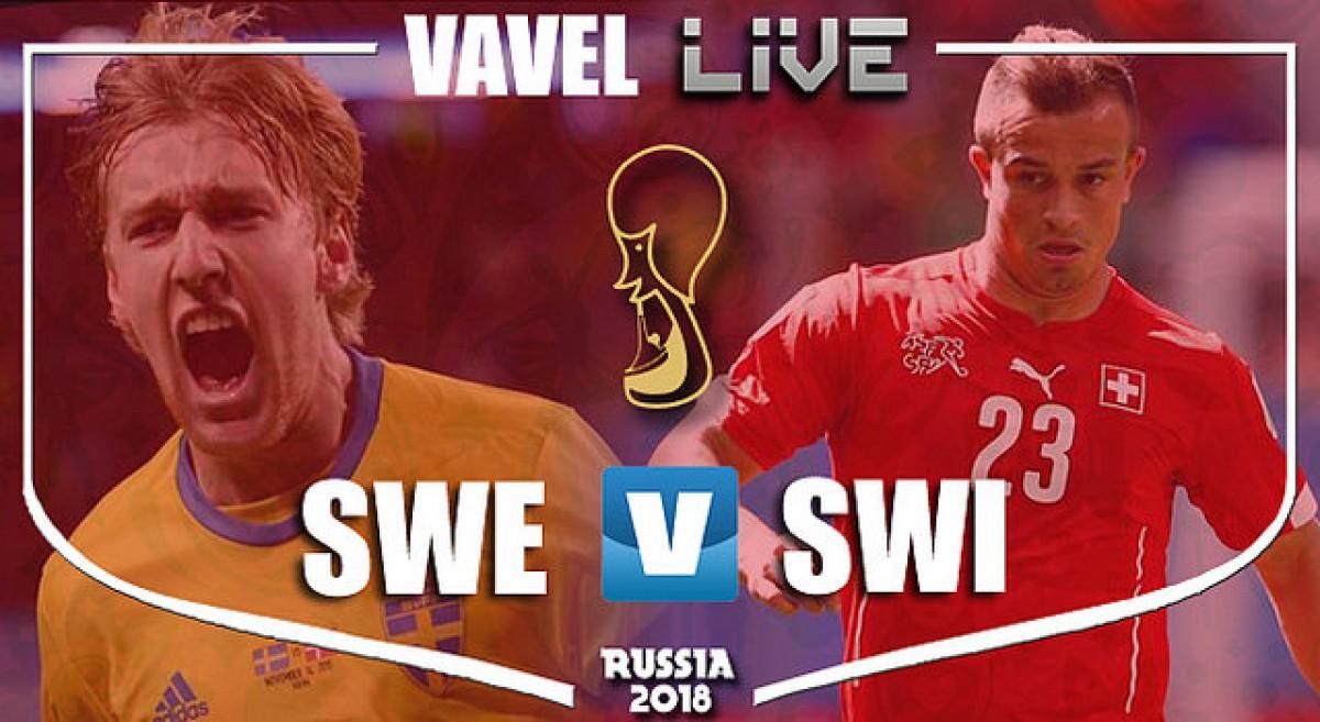 Resultado e gols de Suécia x Suíça pela Copa do Mundo 2018 (1-0)