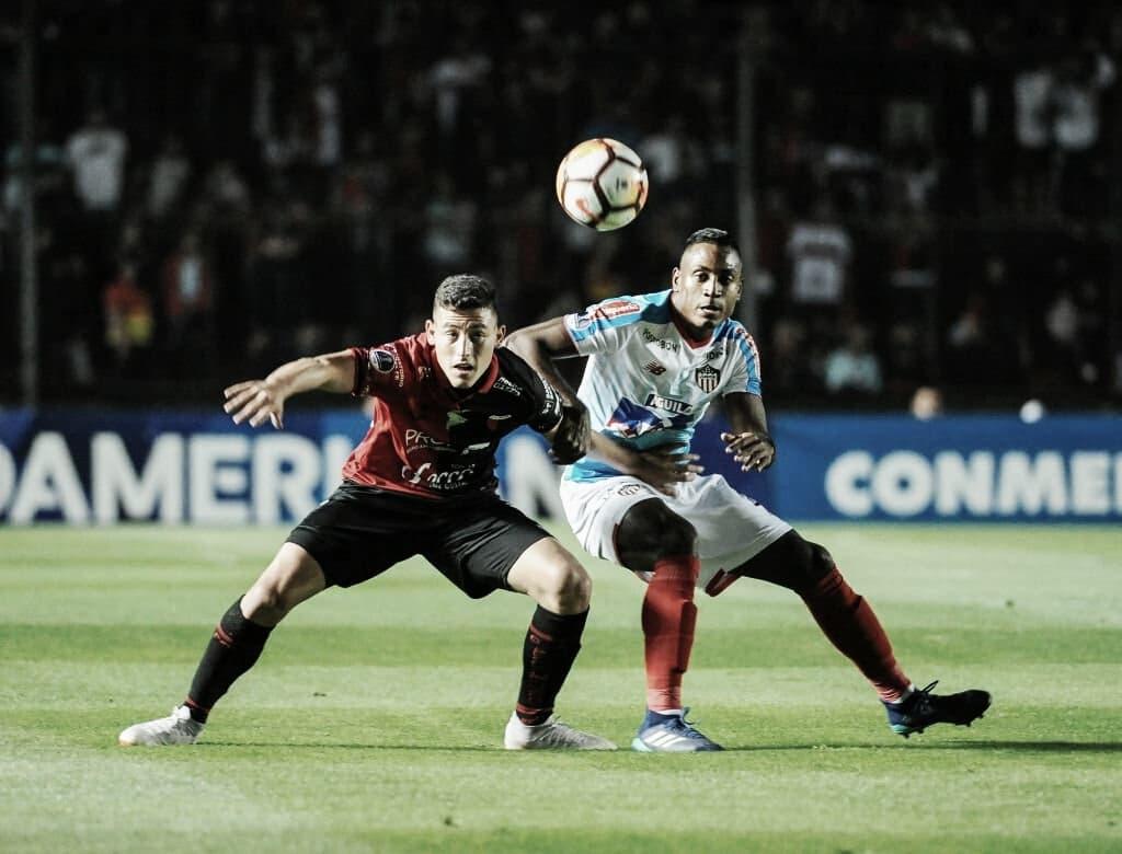 Colón se despidió de la Copa Sudamericana