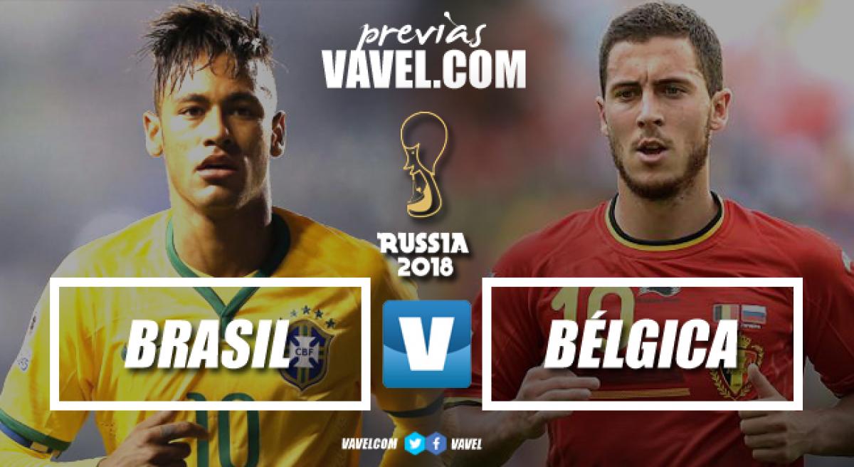 Previa Brasil vs Bélgica: sin margen de error