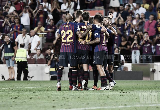 Resumen FC Barcelona 2-0 Espanyol en Liga Santander