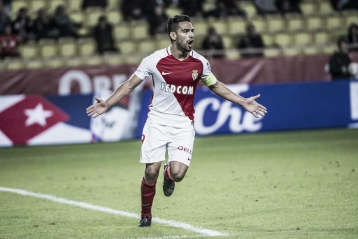 Com gols de Falcao e Jemerson, Monaco goleia Montpellier e retoma vice-liderança