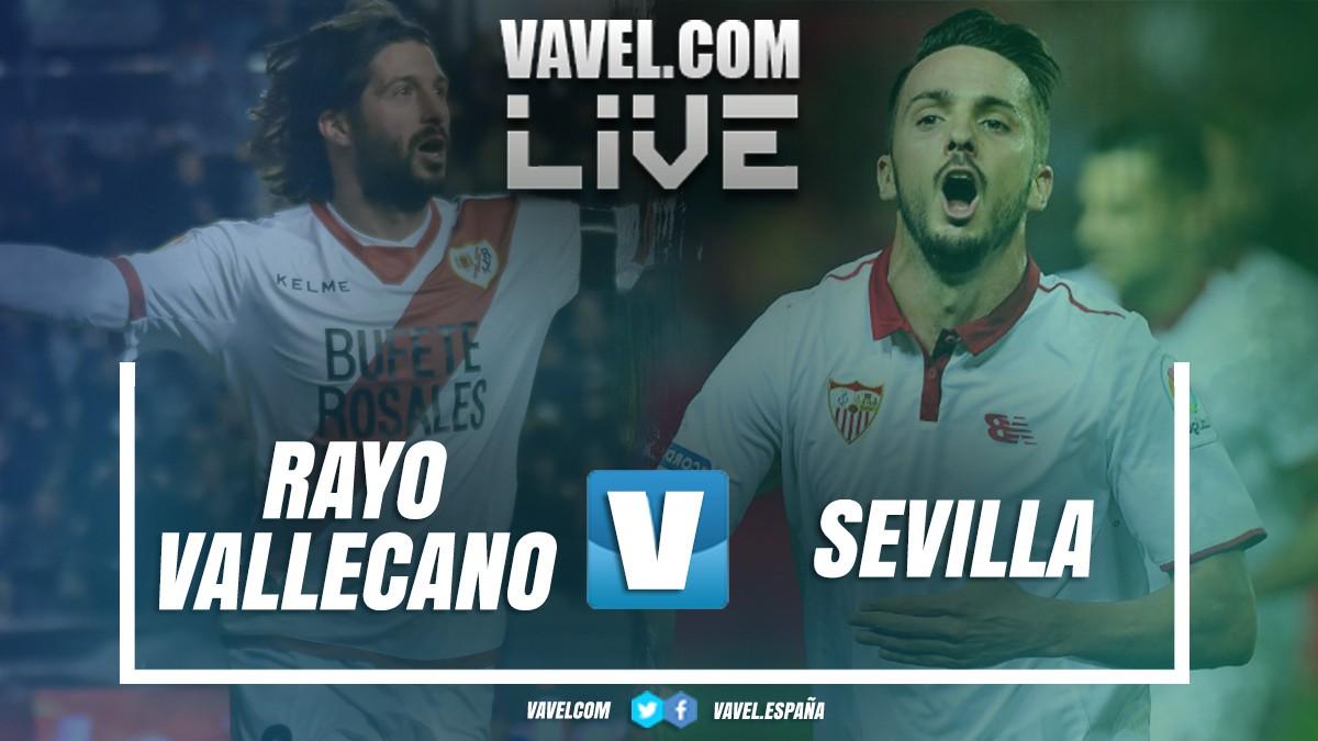 Resumen Rayo Vallecano 1-4 Sevilla FC en LaLiga Santander 2018-2019