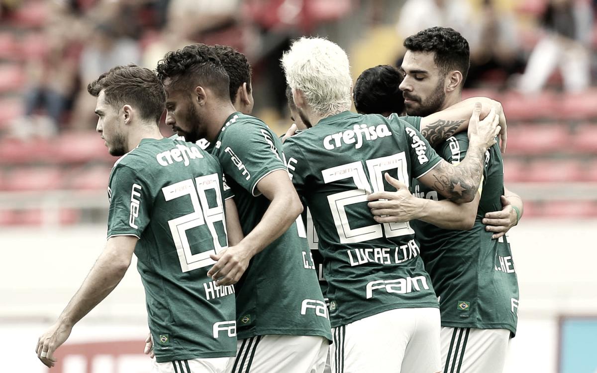 Hyoran e Scarpa são destaques, Palmeiras goleia Liga Alajuelense e termina intertemporada invicto