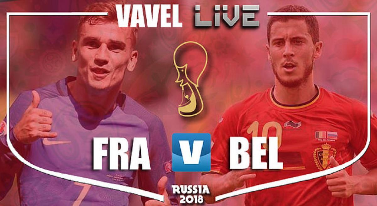 Resumen Francia vs Bélgica en Copa del Mundo Rusia 2018 (1-0)