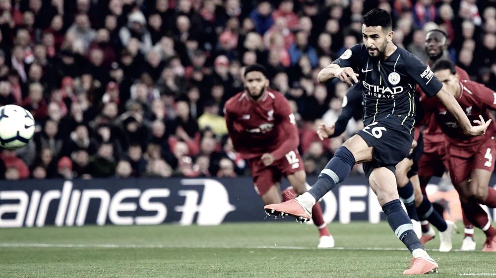 Decepcionante empate entre Liverpool y Manchester City