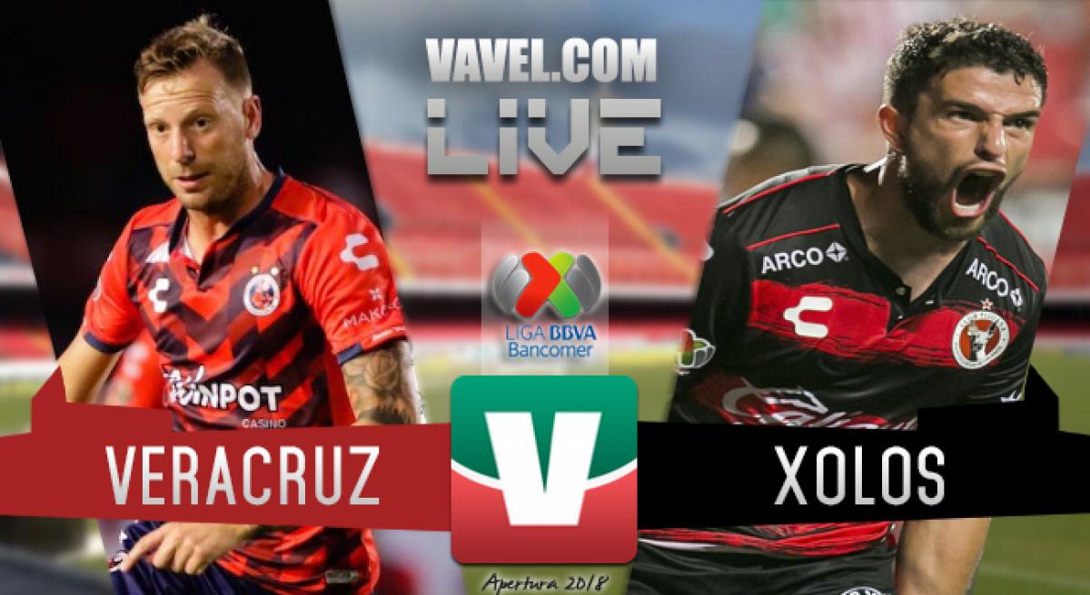 Resumen Veracruz 1-0 Xolos en Liga MX 2018