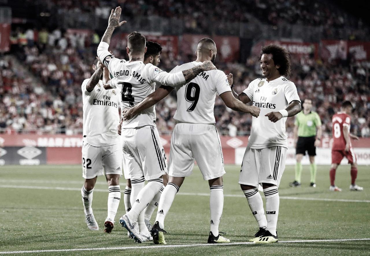 Resultado e gols de Real Madrid 2x1 Eibar pela La Liga 2019