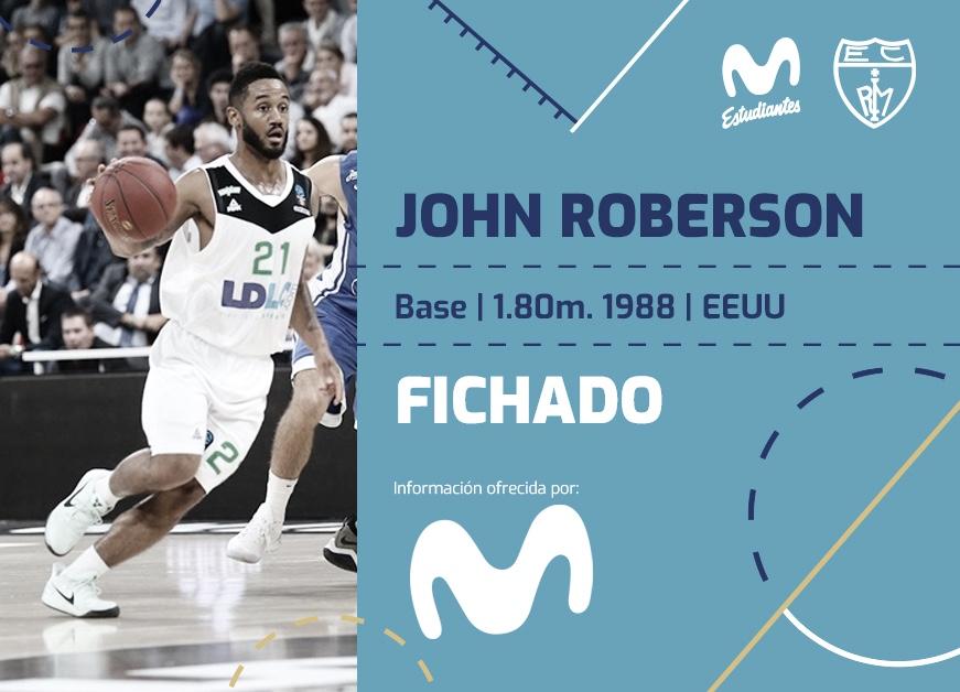 John Roberson firma con el Movistar Estudiantes