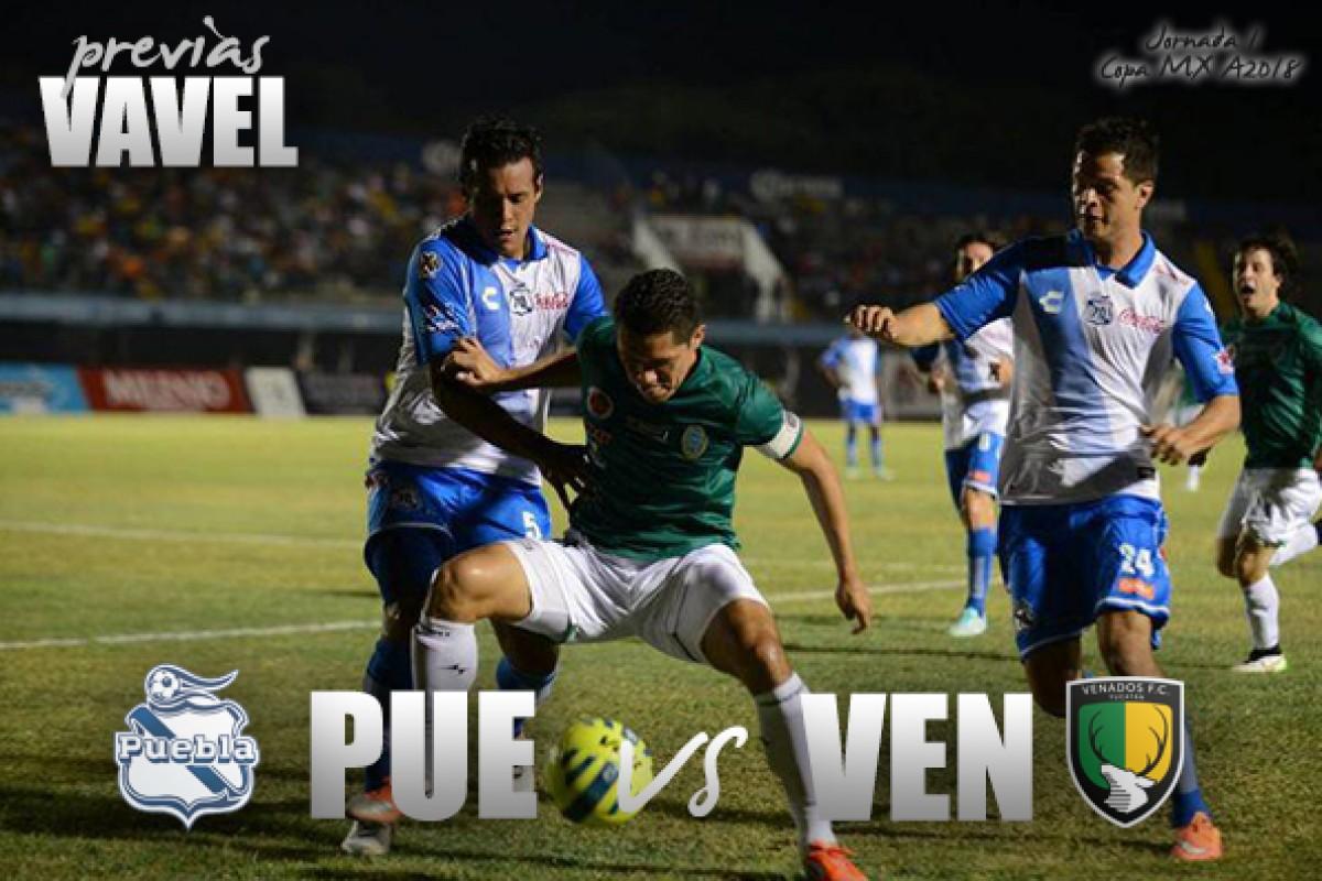 Previa Puebla - Venados: Arranca la Copa MX