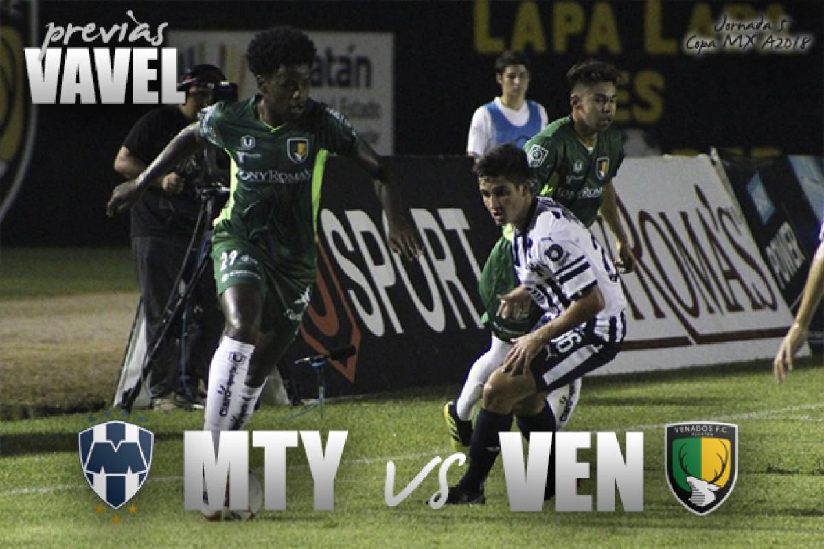 Previa Monterrey - Venados: A mantener el liderato del sector
