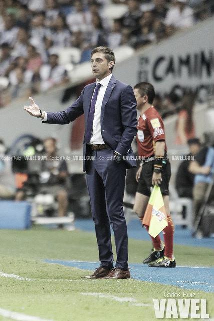 Contento Diego Alonso por el triunfo ante Toluca en el BBVA