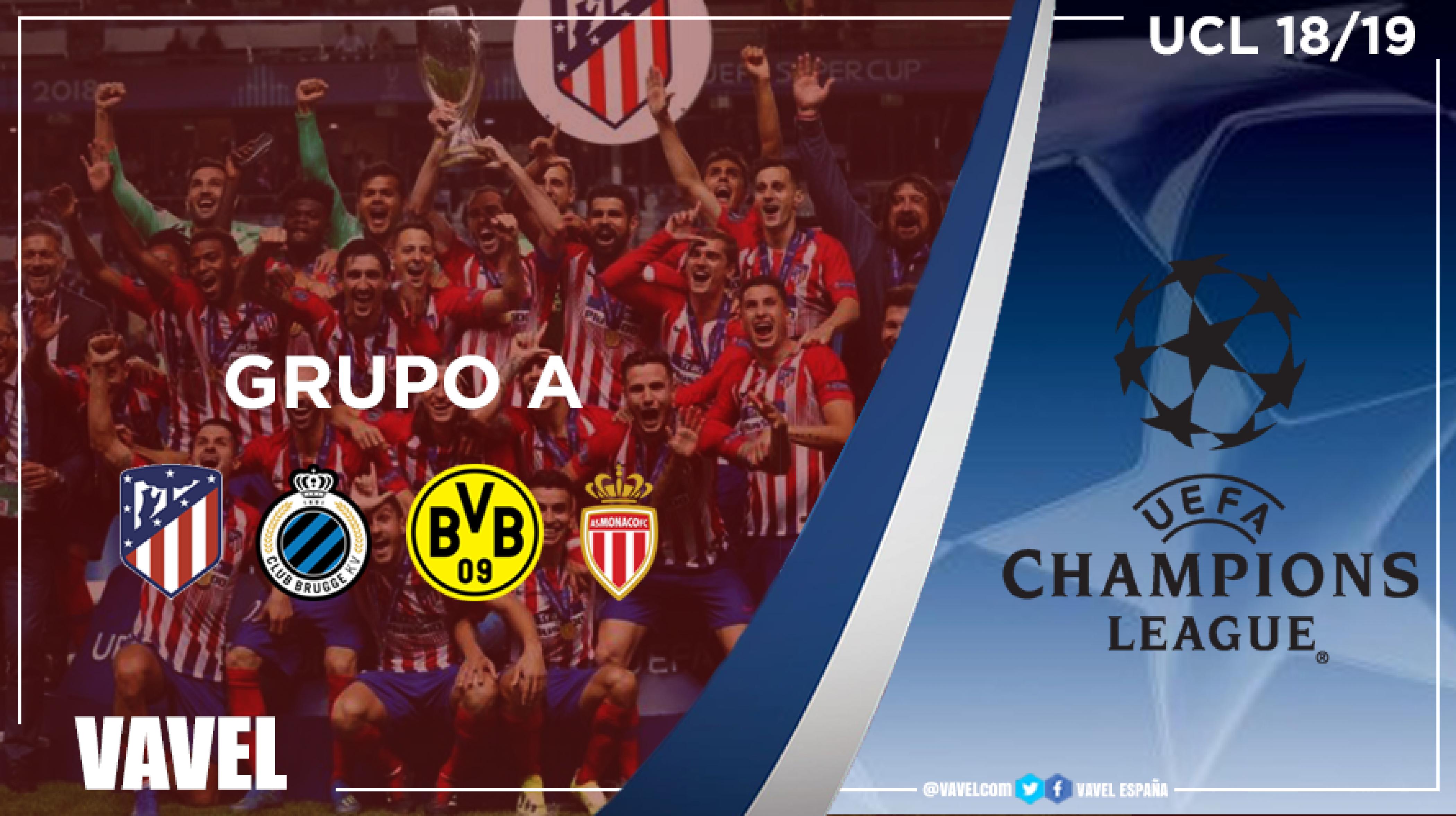 Guía VAVEL UEFA Champions League 2018/10: Grupo A, el Atlético por la revancha