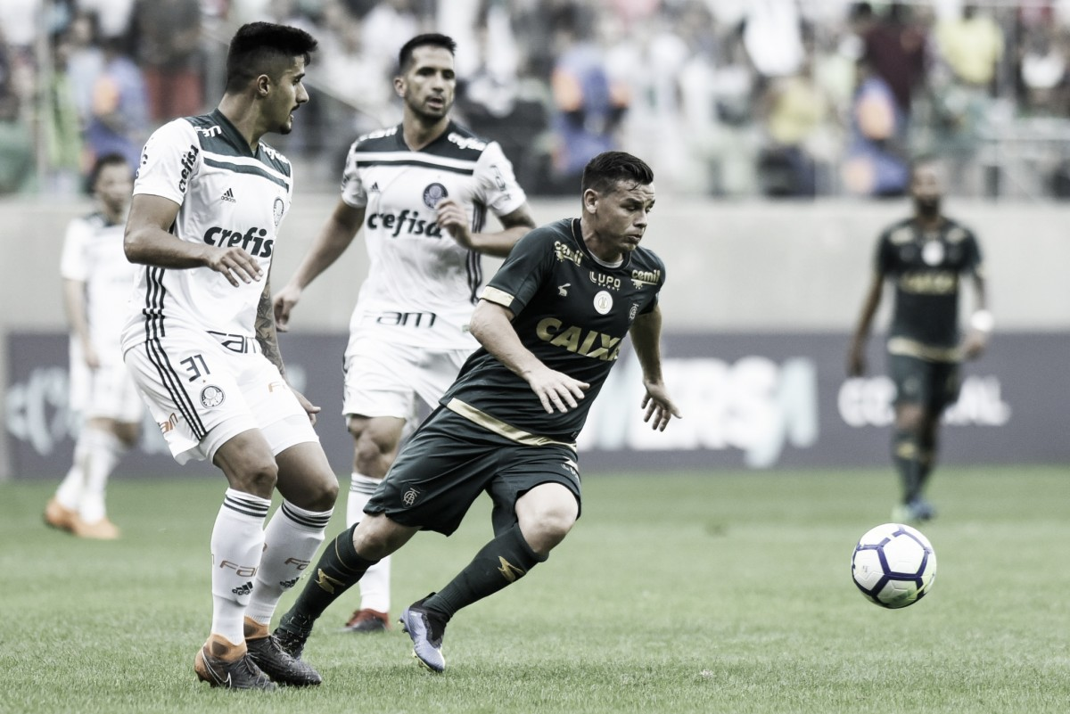 Na reestreia de Felipão, América-MG e Palmeiras empatam sem gols em Belo Horizonte