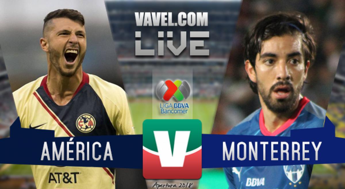 América goleó a los Rayados del Monterrey 3-0