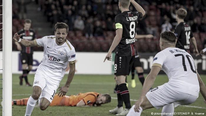 Em jogo de duas viradas, Zurich vence Bayer Leverkusen e dispara na liderança do grupo A
