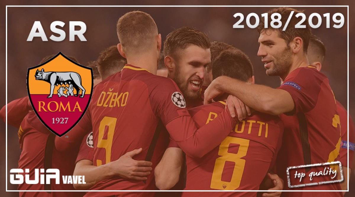 Guía VAVEL Serie A 2018/19: AS Roma, el objetivo de superarse a si mismo
