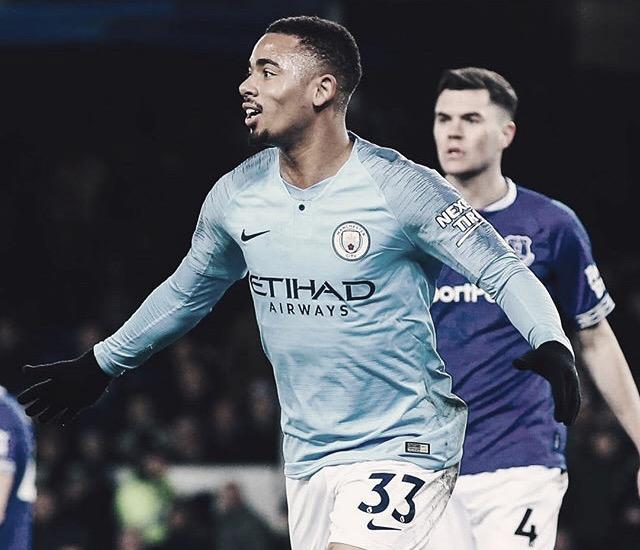 City vence Everton e assume liderança da Premier League provisoriamente