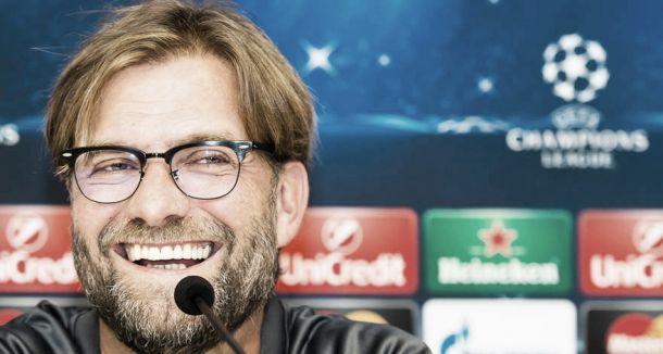 """Jurgen Klopp: """"El partido ante el Anderlecht es un desafío"""""""