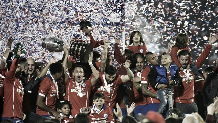Copa America: c'è molta Serie A tra i convocati del Cile per il torneo del Centenario