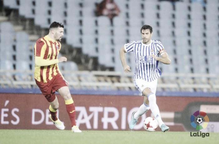 Real Sociedad - Lleida: puntuaciones de la Real Sociedad, vuelta de los 1/16 de final de la Copa del Rey