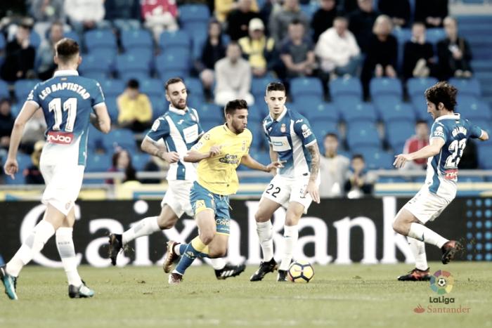Empate insuficiente para Las Palmas y Espanyol