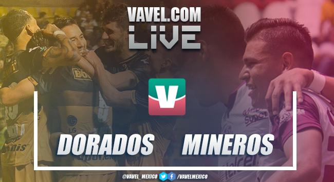 Resultado del partido Dorados vs Mineros en Liguilla (0-0)
