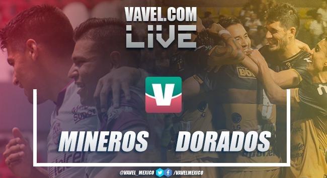 Resumen y goles del Mineros Zacatecas 0-1 Dorados Sinaloa en Liguilla 2018