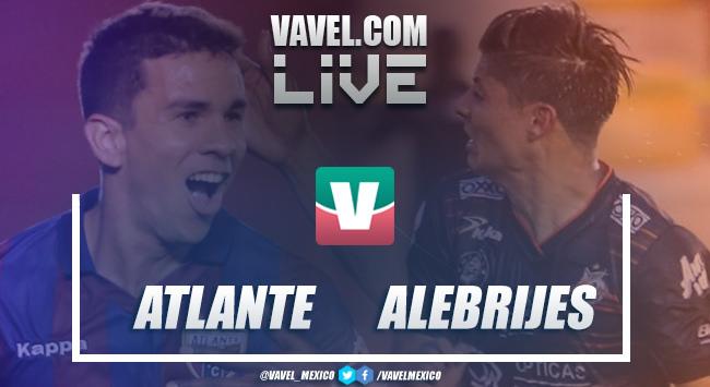Resumen y goles de Atlante vs Alebrijes Oaxaca en Cuartos de Final (0-0)