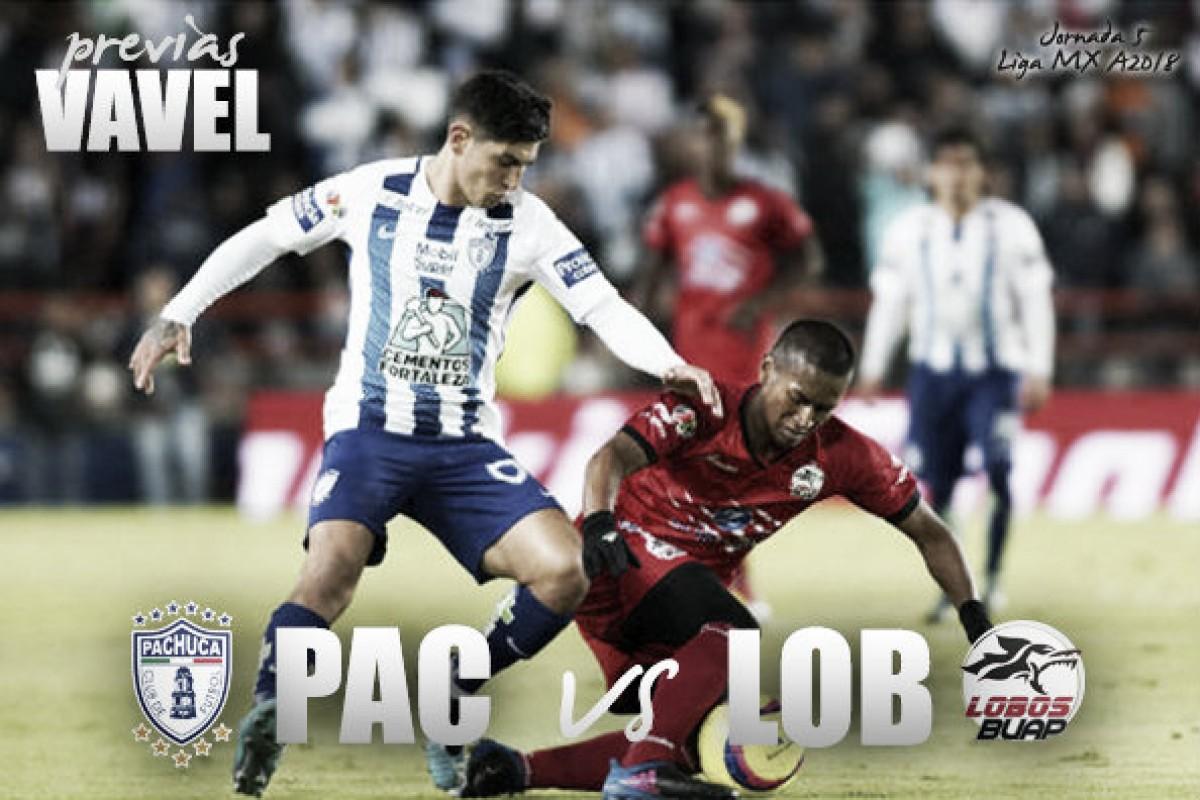 Previa Pachuca - Lobos BUAP, duelo de urgidos.