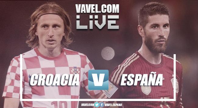 Jogo Croácia x Espanha AO VIVO em tempo real na UEFA Nations League