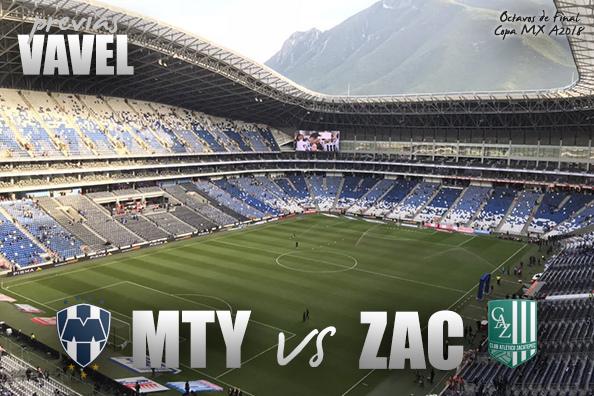 Previa Monterrey - Zacatepec Pase atrasado a octavos