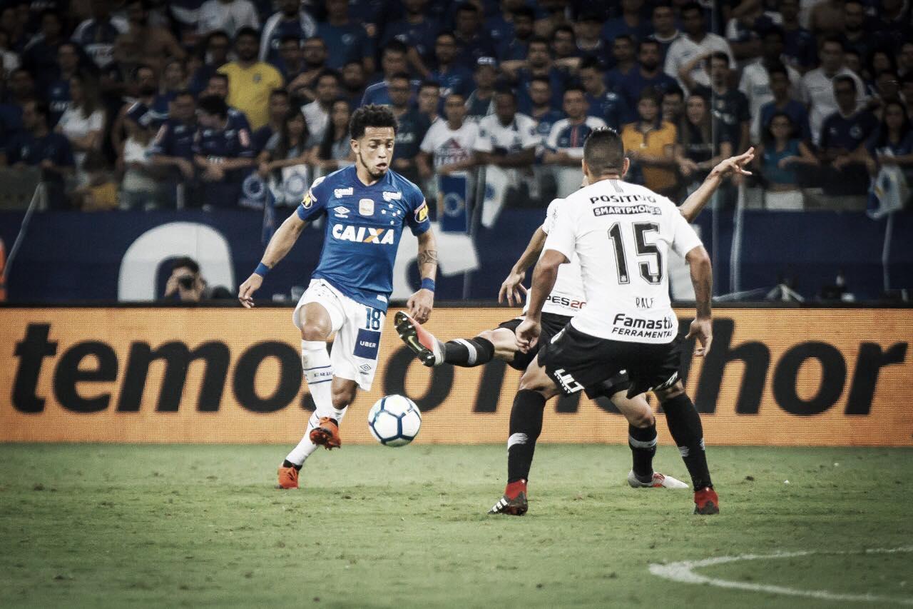 Em jogo de opostos, Cruzeiro e Corinthians reeditam decisão da Copa do Brasil